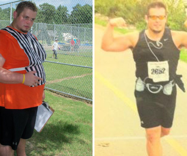 Former College Athlete Alex Started Running And Lost 80 Pounds