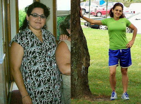 Great success story! Read before and after fitness transformation stories from women and men who hit weight loss goals and got THAT BODY with training and meal prep. Find inspiration, motivation, and workout tips | Eating Whole Foods Helped Anna Lose 75 Pounds