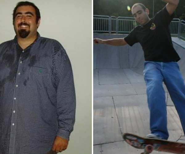 Anthony Masiello Made A New Year's Resolution And Lost 160 Pounds