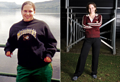 Great success story! Read before and after fitness transformation stories from women and men who hit weight loss goals and got THAT BODY with training and meal prep. Find inspiration, motivation, and workout tips | A Trip to Europe Motivated Her to Drop 60 Pounds