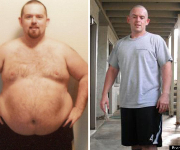 Brian Lost 128 Pounds Through At-Home Workouts