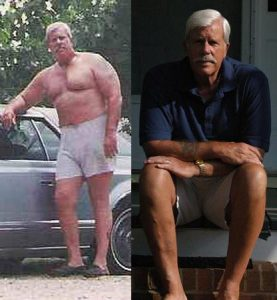 Great success story! Read before and after fitness transformation stories from women and men who hit weight loss goals and got THAT BODY with training and meal prep. Find inspiration, motivation, and workout tips | Bruce Weight Loss Story