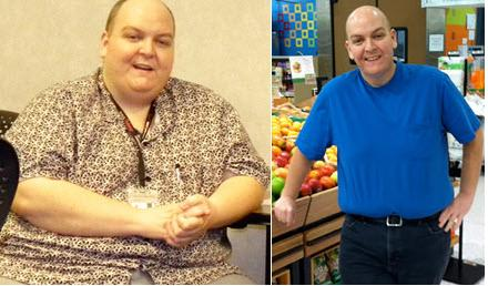 Great success story! Read before and after fitness transformation stories from women and men who hit weight loss goals and got THAT BODY with training and meal prep. Find inspiration, motivation, and workout tips | He's Shed Nearly 300 Pounds (and Counting)!