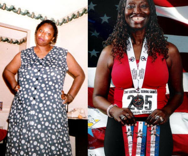 Clovis Lost 87 pounds to 'be there' for her sons