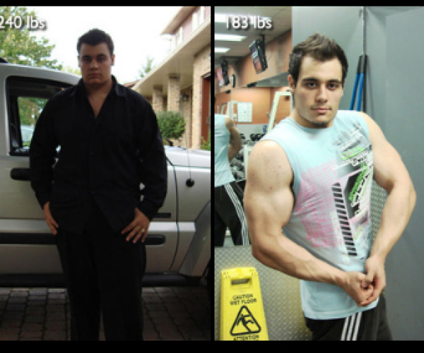 """Dave Gouveia lost 57lbs with Diet and Exercise"""