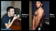Great success story! Read before and after fitness transformation stories from women and men who hit weight loss goals and got THAT BODY with training and meal prep. Find inspiration, motivation, and workout tips | David Miele Muscle Makeover with Diet and Exercise