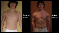 Great success story! Read before and after fitness transformation stories from women and men who hit weight loss goals and got THAT BODY with training and meal prep. Find inspiration, motivation, and workout tips   Didier Brassard Muscle Makeover with Diet and Exercise