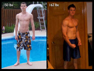 Great success story! Read before and after fitness transformation stories from women and men who hit weight loss goals and got THAT BODY with training and meal prep. Find inspiration, motivation, and workout tips | Dustin Dietze Muscle Makeover with Diet and Exercise