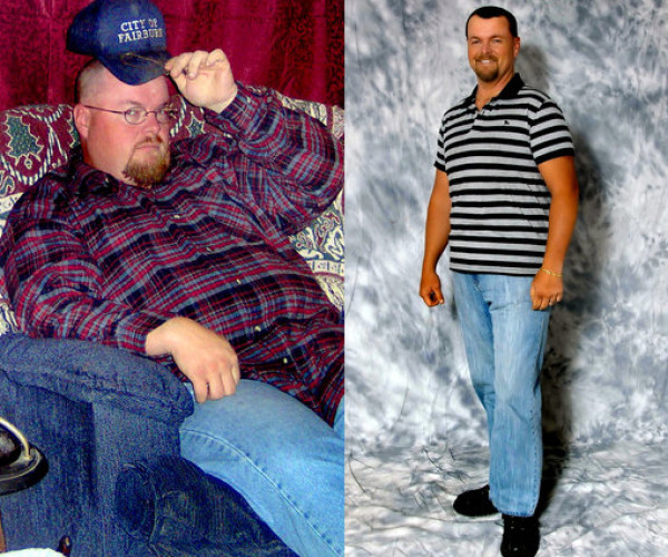 Eddie Powell, 37, of Douglasville, sheds 65 pounds
