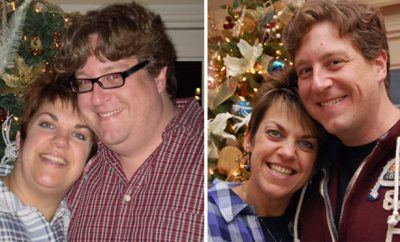 Josh, over 100 pounds; Terri, 100 pounds