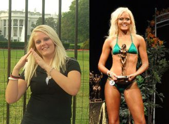 From Frumpy to Fitness Model: How Jennie Lost 70 Pounds