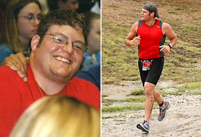Great success story! Read before and after fitness transformation stories from women and men who hit weight loss goals and got THAT BODY with training and meal prep. Find inspiration, motivation, and workout tips   He Lost 107 Pounds and Started Doing Triathlons