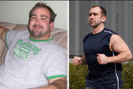 I lost 60 pounds! Read my weight loss success story and see my before and after weight loss pictures at the website The Weigh We Were. Hundreds of success stories, articles and photos of weight loss diet plans for men, tips for how to lose weight for men. Build muscle and lose belly fat with healthy male weight loss transformation pics for inspiration!