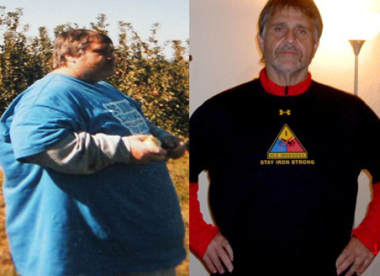 Michael Took Control and Lost Nearly 400 Pounds