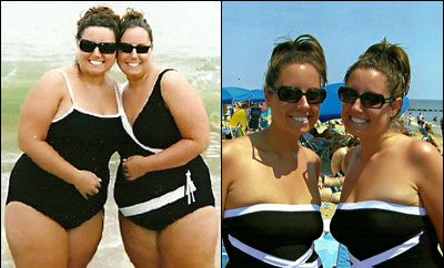 Twins Ashley and Amanda Lost 120 Pounds Together!