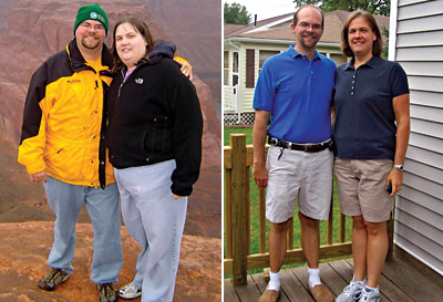 Great success story! Read before and after fitness transformation stories from women and men who hit weight loss goals and got THAT BODY with training and meal prep. Find inspiration, motivation, and workout tips | A Couple Committed to Get Healthy and Dropped 194 Pounds