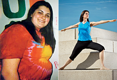 Great success story! Read before and after fitness transformation stories from women and men who hit weight loss goals and got THAT BODY with training and meal prep. Find inspiration, motivation, and workout tips | Im Nearly Half the Size I Used to Be!