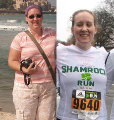 Joining the Army Motivated Rebecca to Drop 45 Pounds