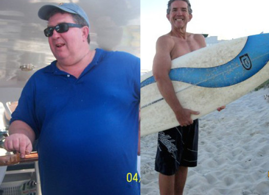 Getting Laid Off Pushed Richard to Shed 155 Pounds