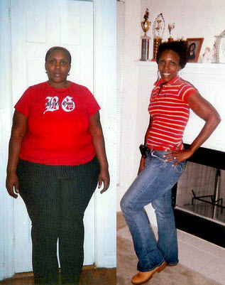 Losing 189 pounds gave Sibrenna the oomph to further her education