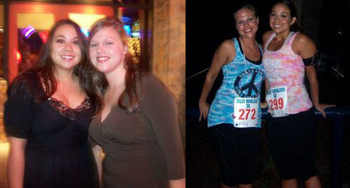 Great success story! Read before and after fitness transformation stories from women and men who hit weight loss goals and got THAT BODY with training and meal prep. Find inspiration, motivation, and workout tips | Sarah Ditched Diet Pills, Started Running