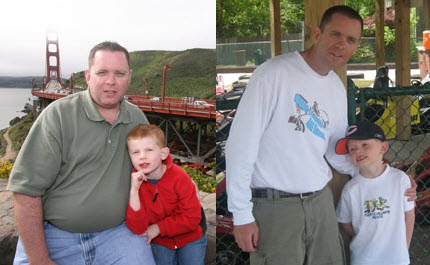 Great success story! Read before and after fitness transformation stories from women and men who hit weight loss goals and got THAT BODY with training and meal prep. Find inspiration, motivation, and workout tips | Small Steps Helped Scott Slim Down