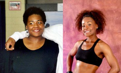 Shana Dezelle drops 95 pounds eating raw food