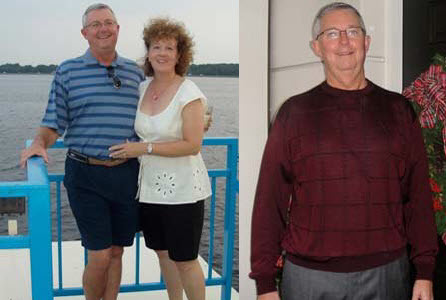 Great success story! Read before and after fitness transformation stories from women and men who hit weight loss goals and got THAT BODY with training and meal prep. Find inspiration, motivation, and workout tips | At 60, Stephen Lost 38 Pounds and Got Back on His Bike