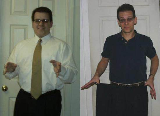 Ted Trashed Junk Food to Lose 60 Pounds