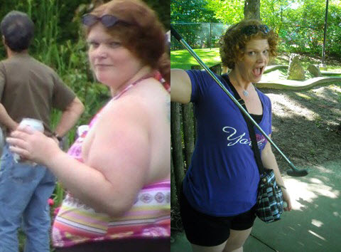 Great success story! Read before and after fitness transformation stories from women and men who hit weight loss goals and got THAT BODY with training and meal prep. Find inspiration, motivation, and workout tips | Finding Self Confidence Helped Therese Lose 85 Pounds