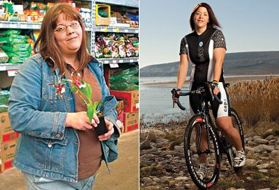 how to lose weight cycling