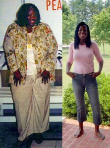 Great success story! Read before and after fitness transformation stories from women and men who hit weight loss goals and got THAT BODY with training and meal prep. Find inspiration, motivation, and workout tips | Veolia Gibson, 54: From 400 pounds to 138 pounds