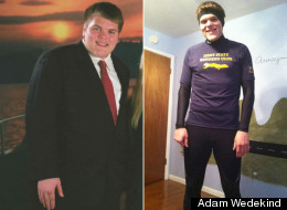 Great success story! Read before and after fitness transformation stories from women and men who hit weight loss goals and got THAT BODY with training and meal prep. Find inspiration, motivation, and workout tips | Adam Wedekind Cut Out Fast Food And Lost 130 Pounds
