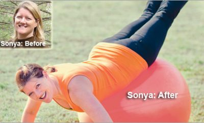 """""""I Refused to be Fat Anymore."""" Sonya's Weight Loss Totaled 48 Pounds"""