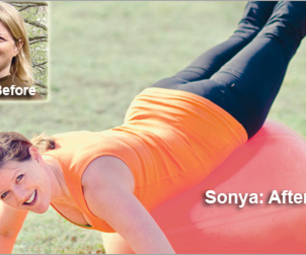 """I Refused to be Fat Anymore."" Sonya's Weight Loss Totaled 48 Pounds"