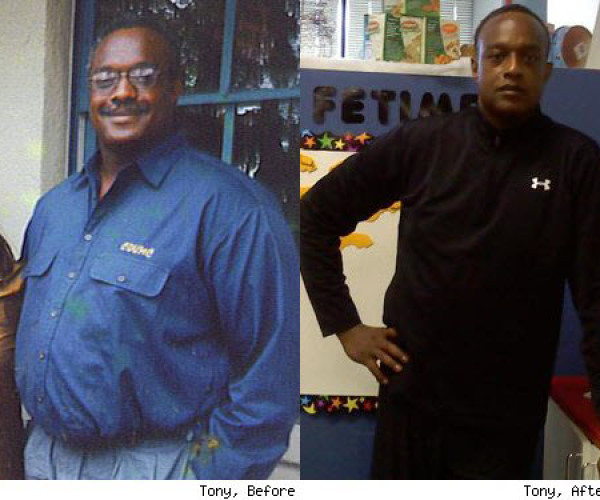 Tony Saved His Own Life by Losing Over 100 Pounds