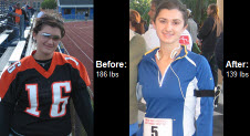 Great success story! Read before and after fitness transformation stories from women and men who hit weight loss goals and got THAT BODY with training and meal prep. Find inspiration, motivation, and workout tips | Read on to learn how Ashley DeRosa dropped 47 pounds and 15% body fat!