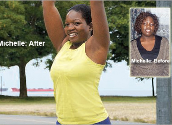 """This time was different."" Michelle lost 46 pounds."