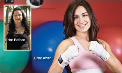 """I finally reclaimed my health."" Erin lost 45 pounds."