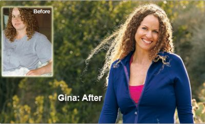 """I'm setting a good example for my son."" Gina Lost 76 Pounds"