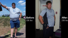 Great success story! Read before and after fitness transformation stories from women and men who hit weight loss goals and got THAT BODY with training and meal prep. Find inspiration, motivation, and workout tips | Charles Weight Loss Story