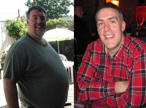 Great success story! Read before and after fitness transformation stories from women and men who hit weight loss goals and got THAT BODY with training and meal prep. Find inspiration, motivation, and workout tips | Gift From a Friend Helped Chris Lose 135 Pounds