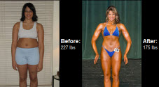 Learn how Christina Franzen dropped 52 lbs and began competing right here….