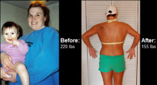 Learn how Cindy Pettit lost 65 lbs right here…