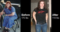 Dara Garza managed to lose more than 60 lbs by training hard!