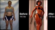 Elicia's body transformation!