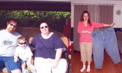 """Elizabeth lost 188 Pounds and Became a """"New Mom"""" to her Son"""