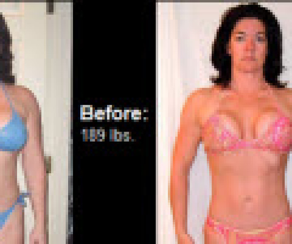 See how Ellie Hart went from 189 Lbs. (28% BF) down to 141 Lbs. (14 % BF) and a size 6 waist.