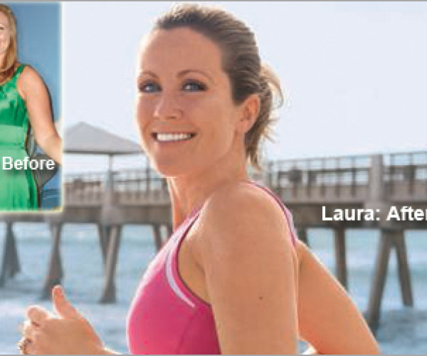 """I Am Done with Crash Diets."" Laura lost 30 pounds."