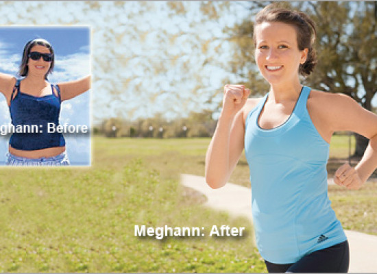 """I learned to love exercise."" Meghann's Weight Loss Totaled 28 Pounds"